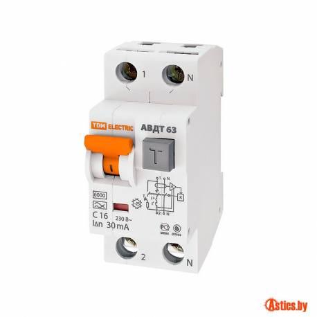 Дифавтоматы TDM-Electric серии АВДТ 63